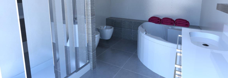 Ristruttura il tuo bagno con le nostre progettazioni in 3d for Progetta il tuo layout di casa